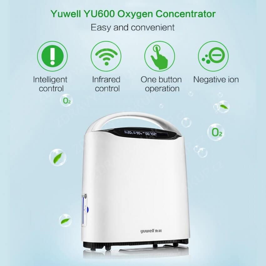 Kyslíkový koncentrátor YU 600 Oxygenátor